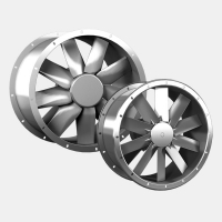 Axial flow fans ; Type: AND / ANDB